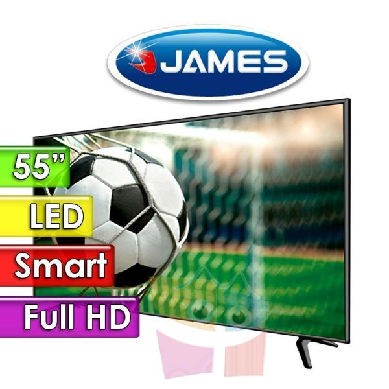 "TV Led Full HD 55"" Smart - James - TVJLEDS55 D1520"