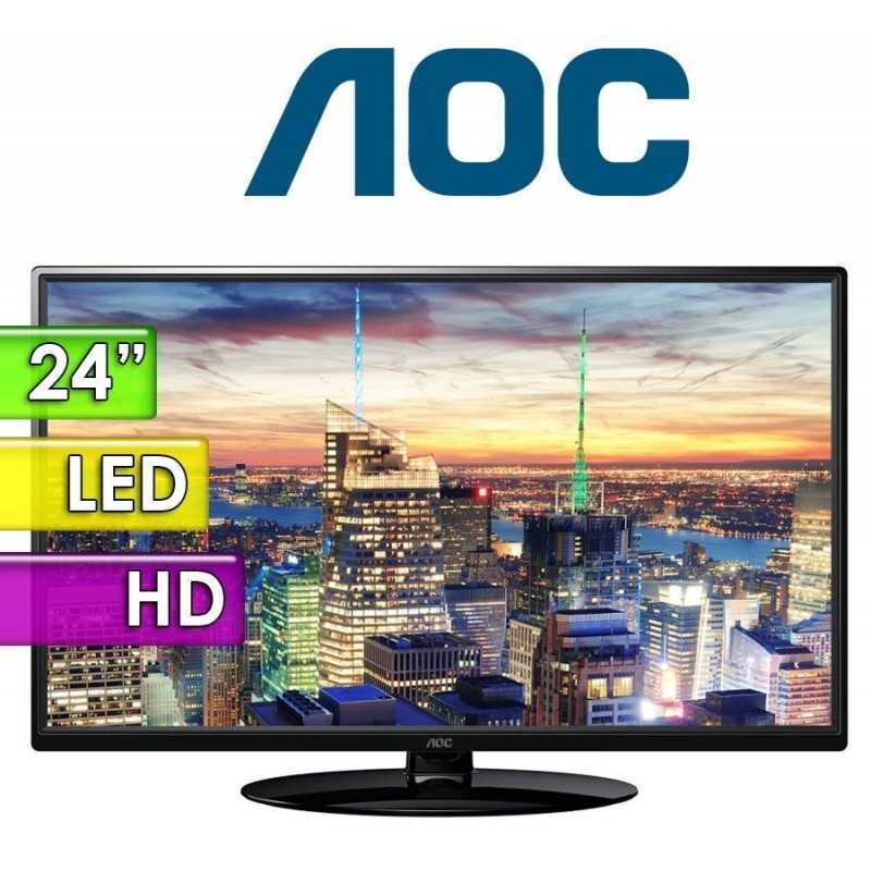 """TV Monitor Led HD 24"""" - AOC - LE24H1351"""