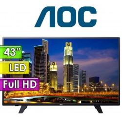 """TV Monitor Led Full HD 43"""" - AOC - LE43F1361"""