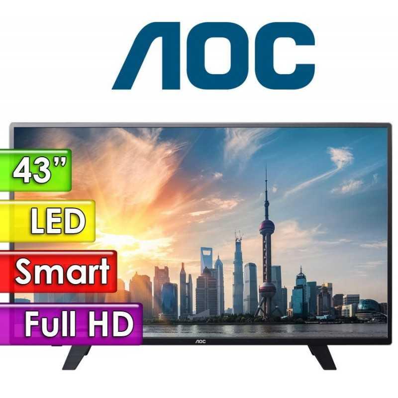"TV Led Full HD 43"" Smart - AOC - LE43F1761"