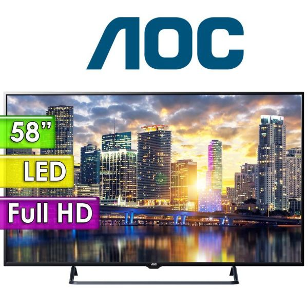 "TV Led Full HD 58"" - AOC - LE58F1352"