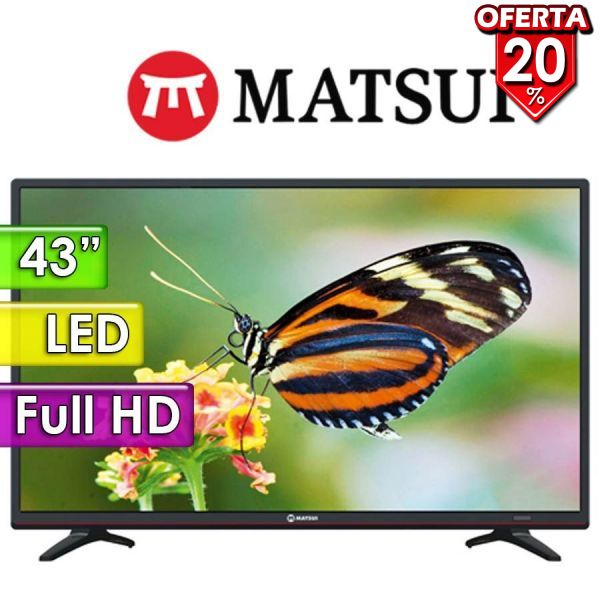 "TV Led Full HD 43"" - Matsui - MT-DNLE43"