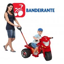 Moto Ban Cars Paseo 2 en 1 Electrica - Bandeirante - 2330