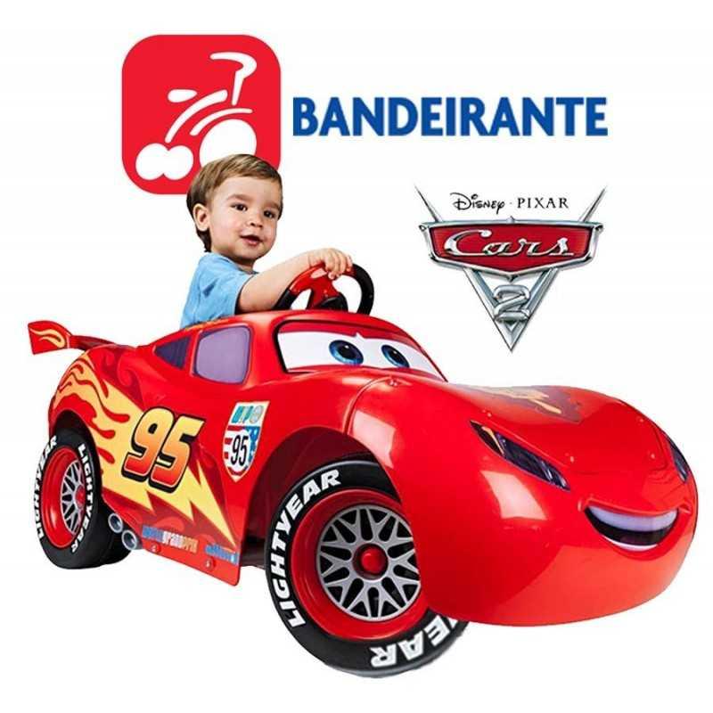 Auto Rayo McQueen Cars a pedal - Bandeirante - 2320