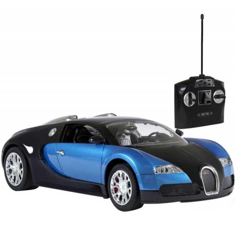 Auto a control remoto Bugatti