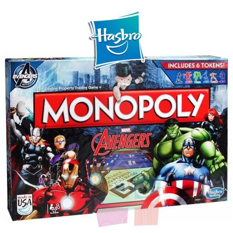 Juego Monopoly Avengers
