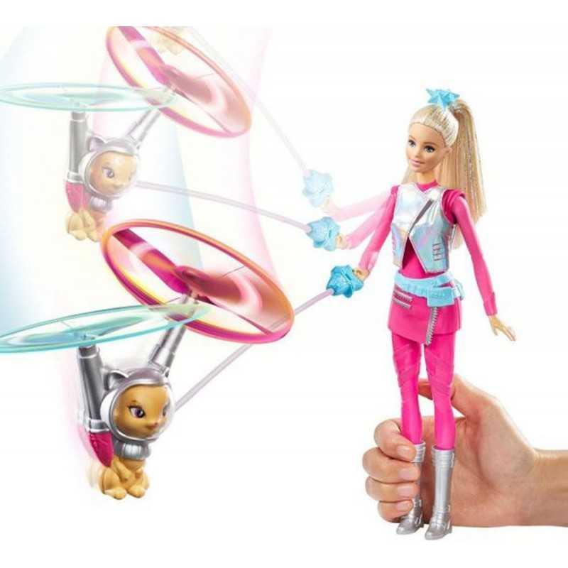 Muñeca Barbie - Aventura Espacial con su gato volador