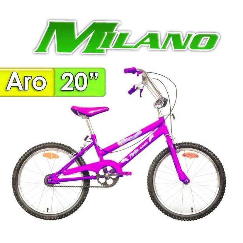"""Bici Aro 20"""" Fiorenza 20 - Milano - Lila"""