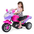 Moto Chopper Electrica Rosada - Speed - 247