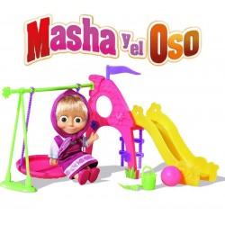 Masha y el Oso Set Parque de juegos - Simba - 109301816