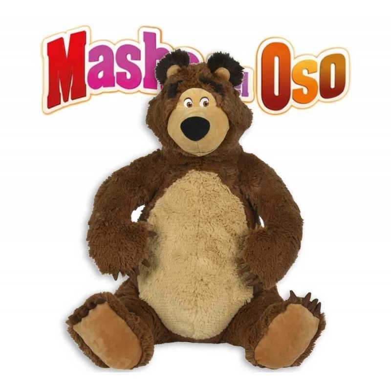 Peluche de Oso 50 cms. de Masha y el Oso - Simba - 109309894