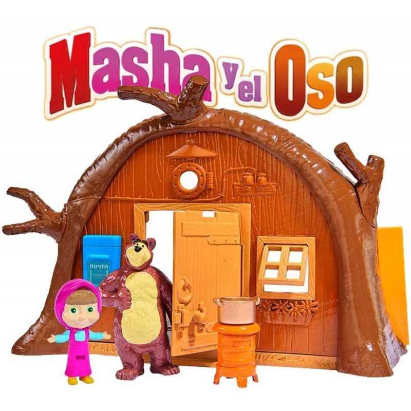 Masha y el Oso Set Casa del Oso - Simba - 109301632