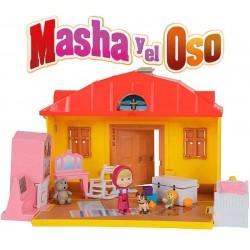 Masha y el Oso Set Casa de Masha - Simba - 109301633