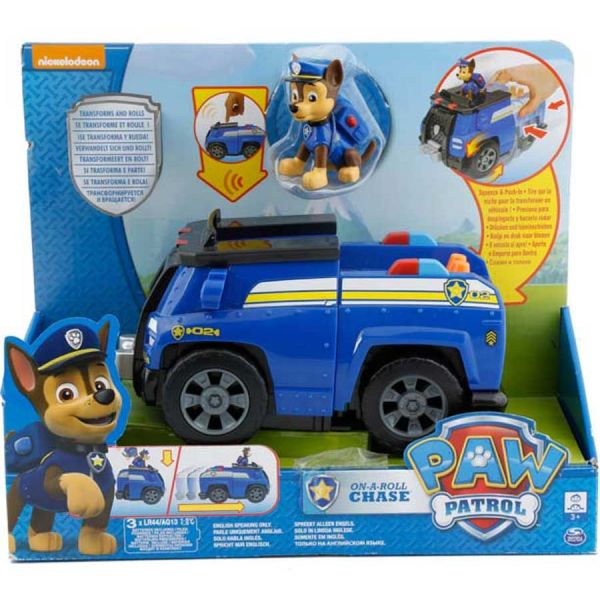 Paw Patroll - Vehiculo de Chase - Spin Master Nickelodeon