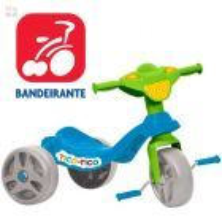 Triciclo Tico Tico Azul - Bandeirante - 650