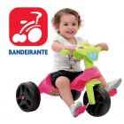 Triciclo Kid Cross Rosa - Bandeirante - 627