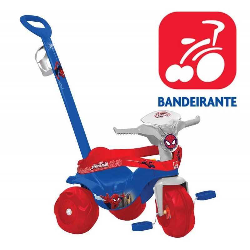 Triciclo Hombre Araña Motoban Paseo - Bandeirante - 2270