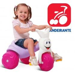 Triciclo Tico Tico Europa Rosa Gatita - Bandeirante - 679