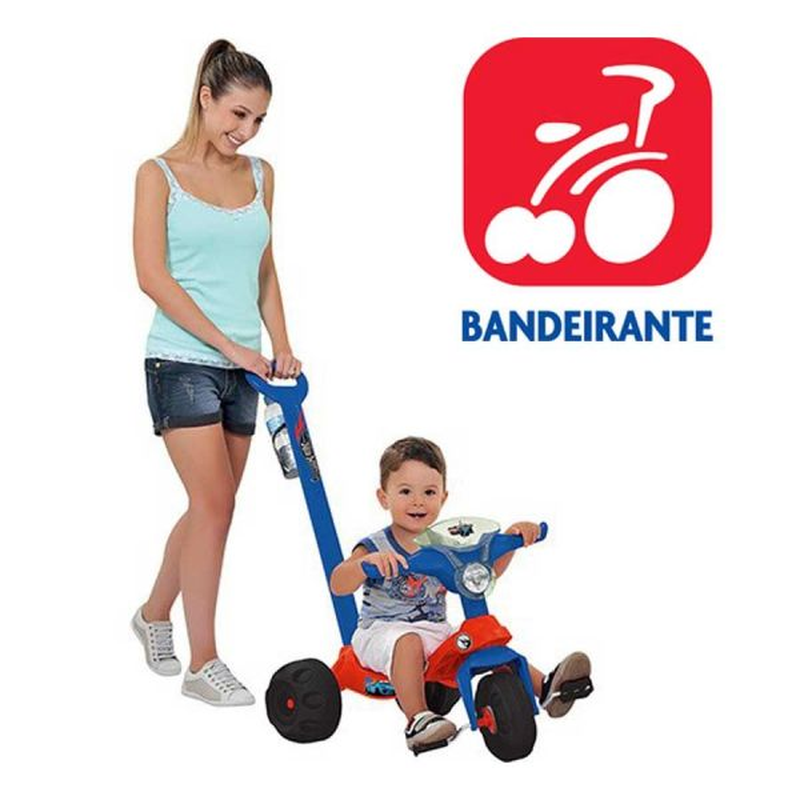 Triciclo Mototico Hot  Wheels - Bandeirante - 2169