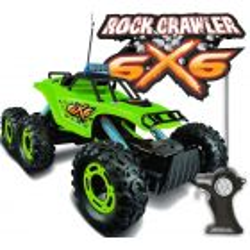 Camioneta a Control Remoto Rock Crawler 6x6 - Maisto