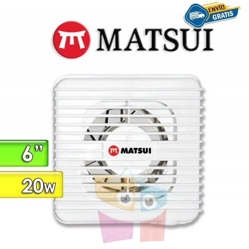 "Extractor de Aire 6"" - 20 Watts - Matsui"