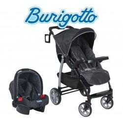 Carrito de bebé + Baby Seat - Burigotto - Valencia Gris IXCJ4010PR64