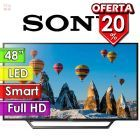 "TV Led Full HD 48"" Smart - Sony - KDL-48W655D"