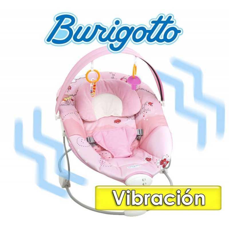 Sillita de Descanso Sonequinha Rosa - Burigotto - IXCD5089GLC7