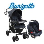 Carrito de bebé AT6 Neptuno + Baby Seat Touring Evolution SE Azul Marino - Burigotto