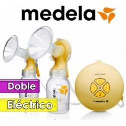 Sacaleches Eléctrico Doble - Medela - Doble Swing Maxi 040.0006