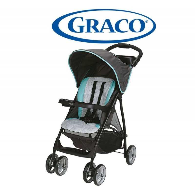Carrito de bebé - Graco - LiteRider LX Lightweight Tenley Celeste GR2003538