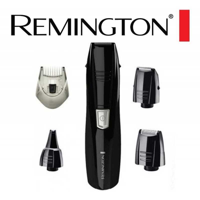 Kit De Corte Barba Y Bigote + Vello Nasal Y Oidos 5 En 1 - Remington - PG-181