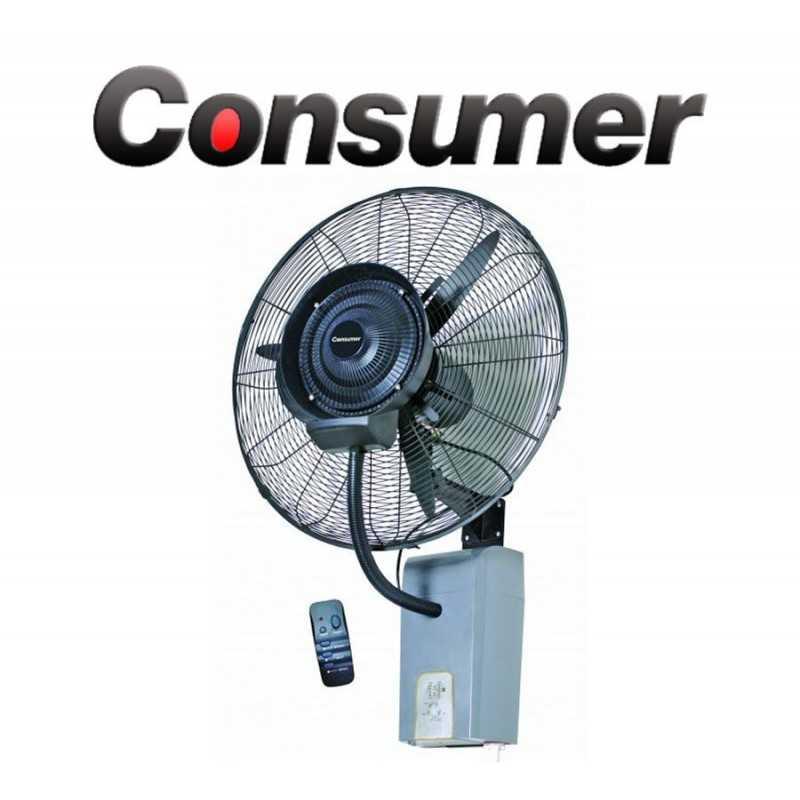 Ventilador Humidificador Industrial de Pared - Consumer - 33