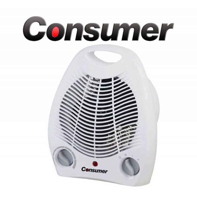 Caloventilador Estufa Eléctrica con ventilador - Consumer - 48