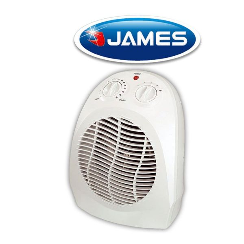 Caloventilador Estufa Eléctrica con ventilador - James - CVT 2000