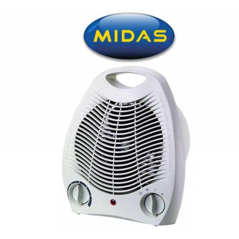 Caloventilador Estufa Eléctrica con ventilador - Midas - MD-ES1705