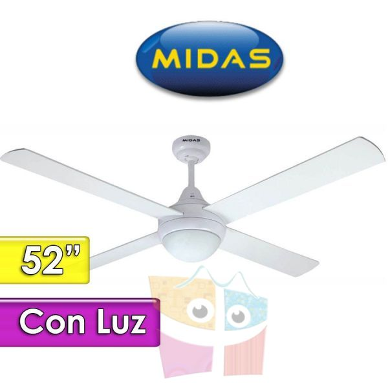 Ventilador de Techo con Luz - Midas - DECO W-FC5292