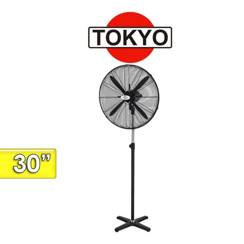 Ventilador de Pie Industrial - Tokyo - VETOKPII30-AR - 30 Pulgadas