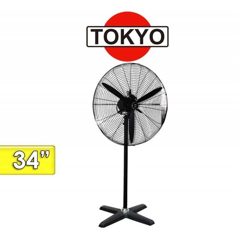 Ventilador de Pie Industrial - Tokyo - VETOKPII34-AR - 34 Pulgadas