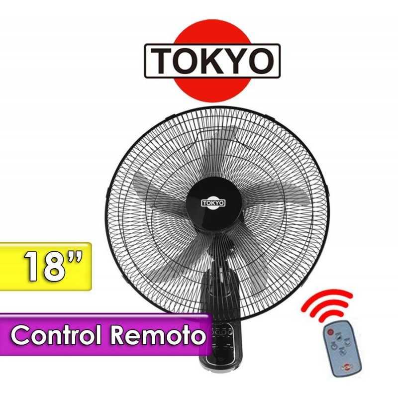 Ventilador de Pared con Control - Tokyo - VETOP18C