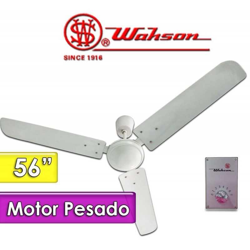 Ventilador de Techo - Wahson - 56 Pulgadas - Motor Pesado