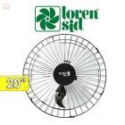 Ventilador de Pared - Loren Sid -  TUFAO M1-50 - 20 Pulgadas