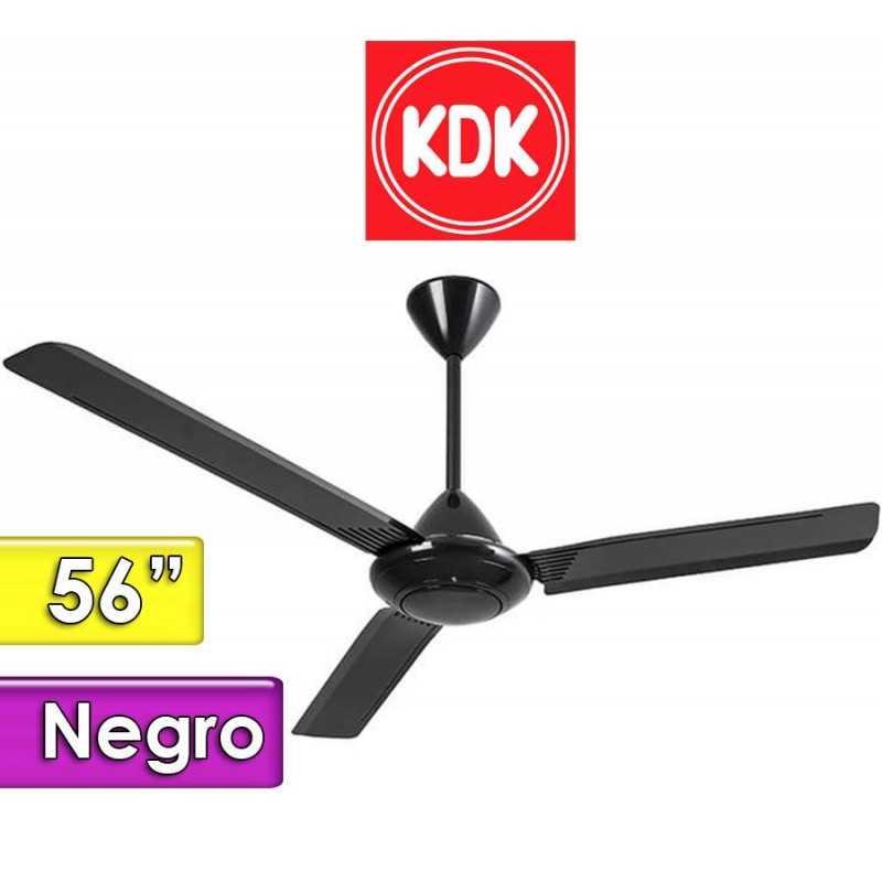 Ventilador de Techo Negro - KDK - M56LG - 56 Pulgadas