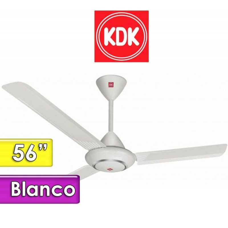 Ventilador de Techo Blanco - KDK - M56LG - 56 Pulgadas
