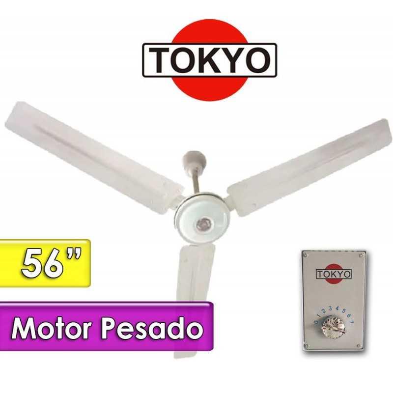 Ventilador de Techo - Tokyo - VETOKT56 - Motor Pesado