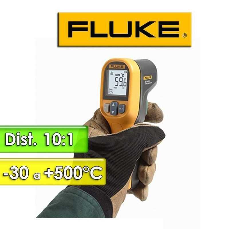 Termómetro Infrarrojo - Fluke - 59 Max + Plus - Escala -30 a +500°C / 10:1