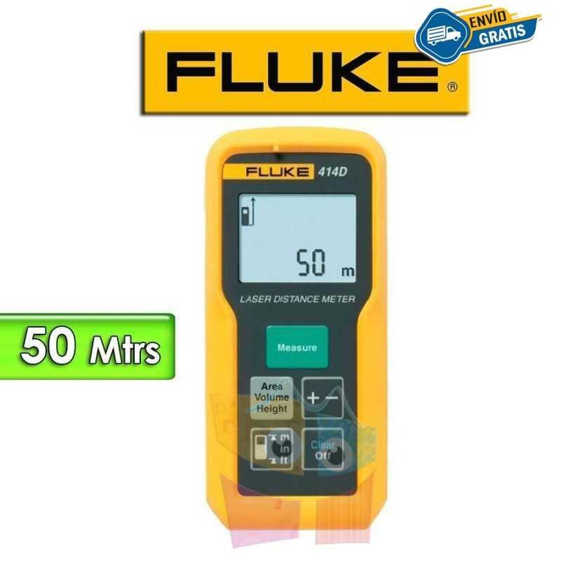 Medidor de Distancia Laser - Fluke - 414D - Distancias hasta 50 metros