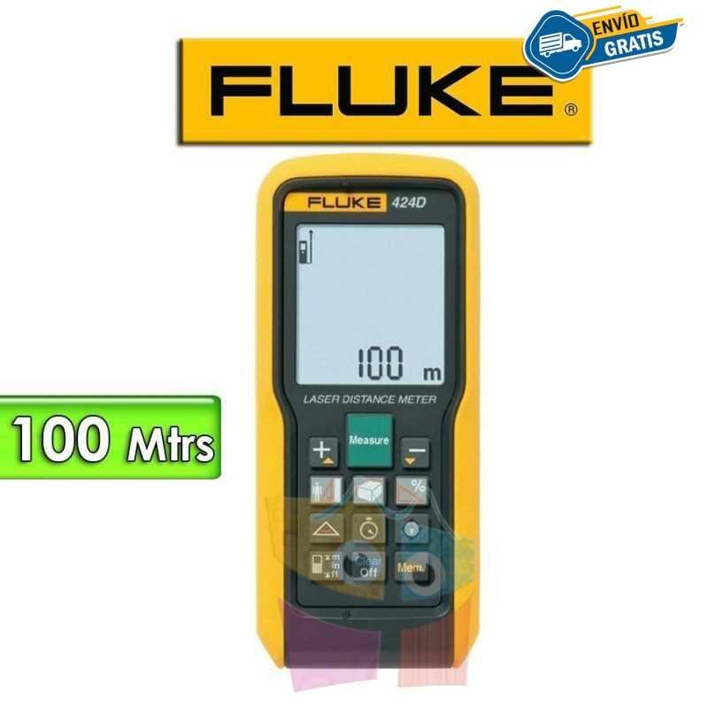 Medidor de Distancia Laser - Fluke - 424D - Distancias hasta 100 metros