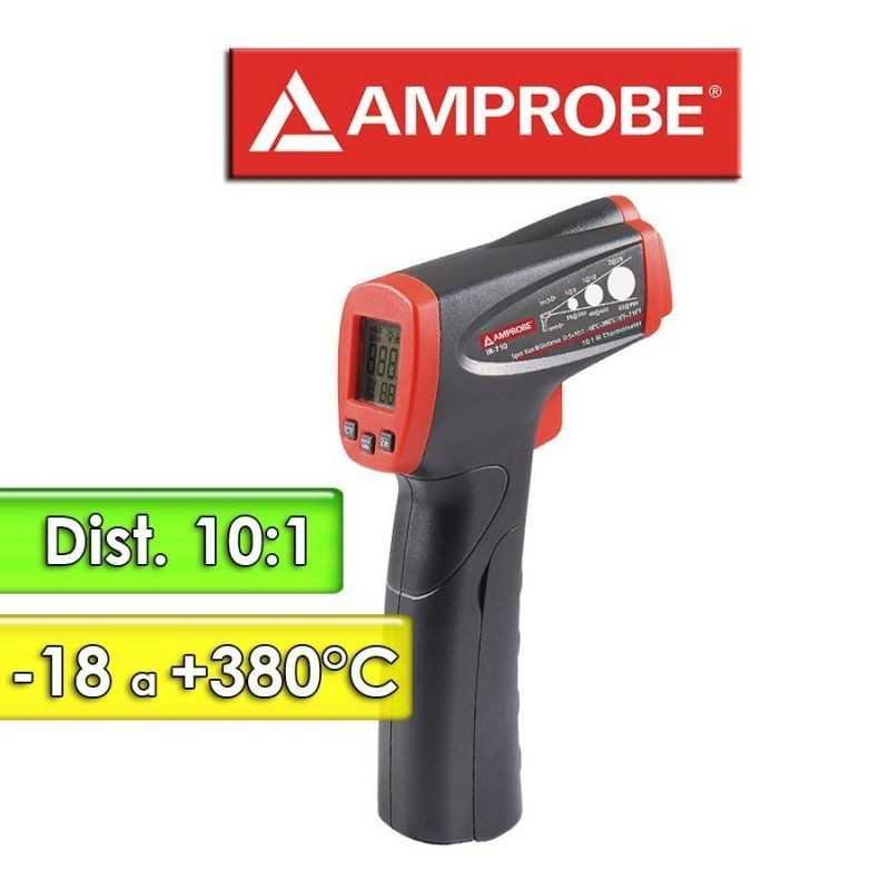 Termómetro Infrarrojo - Amprobe - IR-710 - Escala -18 a +380°C / 10:1