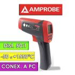 Termómetro Infrarrojo - Amprobe - IR-750 - Escala -50 a +1550°C / 50:1